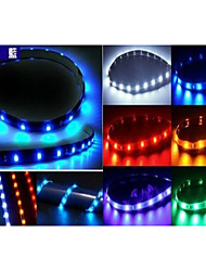 30CM soft Strips of light blue/Red/green/Yellow/White, Automobile Chassis Lights, Intermediate Grid Car Lights