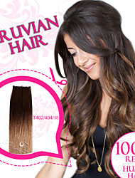 Ombre Color Tape in Hair/ Skin Weft/ PU Weft 100% Peruvian Remy Human Hair Ty.Hermenlisa