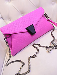 Women Casual/Event/Party PU Button Crossbody & Messenger/Clutches/Evening Bags