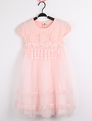 Kid's Lace/Cute Dresses (Cotton/Lace/Mesh)
