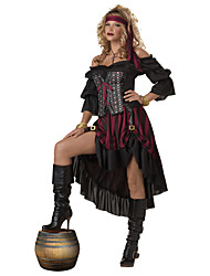 Costumes - Pirate - Féminin - Halloween/Carnaval - Robe/Ceinture/Coiffure