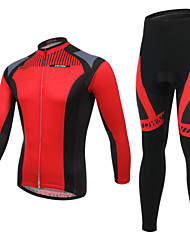 WEST BIKING® Breathable Men's Mountain Bike Clothing Suit Wicking Cycling Long Suit Long Sleeves Pants