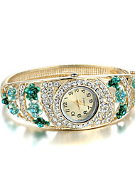 Sjewelry Lady Elegant Golden Retro Bracelet Watch