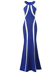 Women's Sexy Beach Casual Party Sleeveless Halter Long Dress