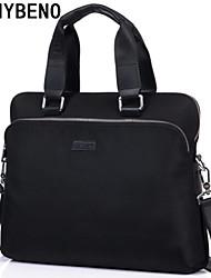 benybeno dos homens pretos oxford pano ombro tote bag maleta Messenger Bag laptop sacos