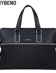 benybeno bolsas de hombro oxford maletín de tela bolsa de mensajero de los hombres de negocios de asas del bolso