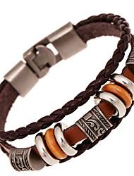 HABER New Vintage Fashion Leather Bracelet