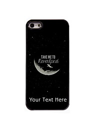 Personalized Gift Take Me To Neverland Design Aluminum Hard Case for iPhone 5/5S