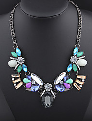 Colorful day  Women's European and American fashion necklace-0526163