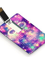 64gb nous sommes infinie design card lecteur flash USB