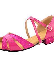 Flach - 3-6cm - Mädchenschuhe - Sandalen ( PU , Gold/Rosa/Silber/Dunkelrosa )
