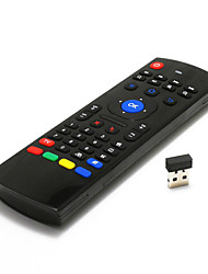 Teclado sem fio 2.4GHz& mouse remoto combos Mini / air mouse para a caixa Smart TV android