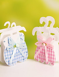 Nonwoven Fabric Baby Clothes Hooks Design Favor Gift Bags Wedding Candy Bags For Party Set of 12