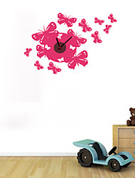 DIY Beautiful Butterflies Wall Clock