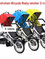 """ruituo cochecito-bicicleta ™ carro cochecito convertible 3 ruedas madre&bebé 16 """"bicicleta de 3 en 1 familia en bicicleta a caballo"""