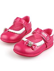 Baby Shoes Dress  Flats Green/Pink/Red