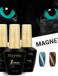 Azure 3 Pcs/Lot UV Cat Eyes Magnetic UV Gel Polish Gel Soak Off Nails Art Kit (#80+#81+#84)