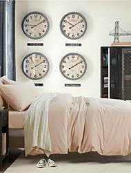 color sólido funda nórdica impresa fija sistemas del lecho ACTIVITE hoja set de lijado 4pcs cama funda de almohada llena de matrimonio