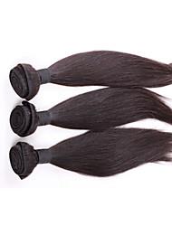 armadura brasileña del pelo remy virginal lía mucho pelo liso 3pcs, pelo humano del 100% barato teje