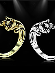 Cat Alloy Statement Rings Wedding/Party/Daily/Casual 1pc