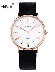 carfenie ® montre-bracelet vogue du couple, de haute qualité à vendre haut montre-bracelet / robe regarder avec 316l boîtier en acier
