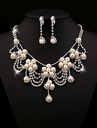 FanXi    European And American Fashion Earrings Necklace Exaggerated