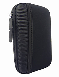 "Protective Shockproof Data Cable Storage Bag Case for 2.5"" Hard Disk Drive - Black"