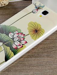 novo caso moda telefone Xiaomi projeto do caso MI4 MI4 de desenho colorido ou padrão TPU material da tampa traseira