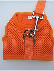 Velcro Desgin Dog Vest Harness With Leashes