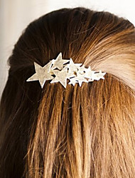 Matting Star Barrettes