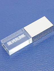 SilverLink® 8GB Crystal Light USB Flash Pen Drive for Gift