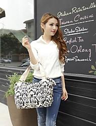 ZIQIAO New Ladies Fashion Canvas Shoulder Bag Handbag