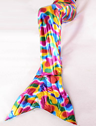 Cute Children Fish Tail Colorful Children's Day Kid Fairytale Costumes