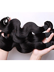 Brazilian Virgin remy Hair Weave Bundles Natural wavy or More Wave 3Pcs Lot, 100% Cheap Human Hair Weave Bundles
