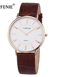 CARFENIE  Fashion Simple and Slim Quarz branded Watch for Men 3ATM
