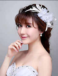 Korean Style Floral Bloom Bridal/Party Head Flowers/Headpieces with Imitation Pearls