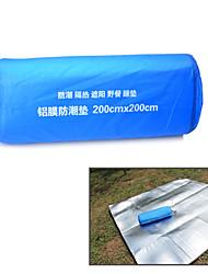 Colchoneta de Camping/Colchoneta de dormir ( Plateado )-A Prueba de Humedad/Aislante térmico/A prueba de