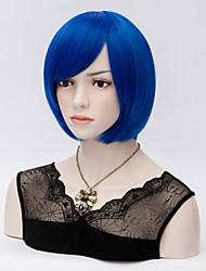 Косплей сокращение волос Боб парики волос красивые синтетические парики