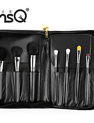 MSQ® 15PCS Black Animal Hair Professional Makeup Brush Sets