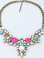 New Arrival Fashional Luxury Popular Hot Selling Gem Crystal Necklace