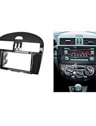 fascia estéreo para la unidad central de radio del panel facia Nissan Tiida instalar kit cd ajuste apropiado