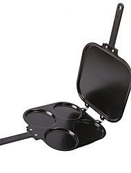 2 in 1 Four Picture Perfect Pancake Maker Pan and Omelet Maker Pan