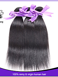 Indian virgin hair extension 3pcs/lot Indian human hair cheap high quality thick human hair Natural straight