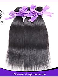 indien vierges 3pcs d'extension de cheveux / lot indien cheveu humain pas cher de haute qualité de cheveux humains épaisse droite