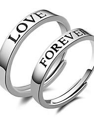 Vintage/Work/Casual Sterling Silver Adjustable Ring