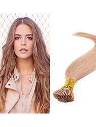 """1pc / lot 18 """"-30"""" 1g / strand 100g / pc i-Spitze brasilianische Menschenhaarverlängerung alle Farben auf Lager Stick Haarverlängerung"""