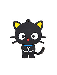 Cartoon New Black Cute Cat USB 2.0 Memory Flash Stick Pen Drive 8GB