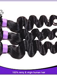 brasilianische reine Haarkörperwelle 3pcs brasilianische Körperwelle 8-30 brasilianisches Haar-Menschenhaarverlängerungen