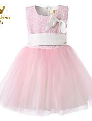 Girl Pink Satin Tulle Soutache Pretty Fairy Dress