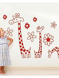 Hand Draw A Giraffe Translucent Decorative Paper